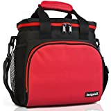 Insulated Lunch Bag: InsigniaX Adult Lunch Box For Work...