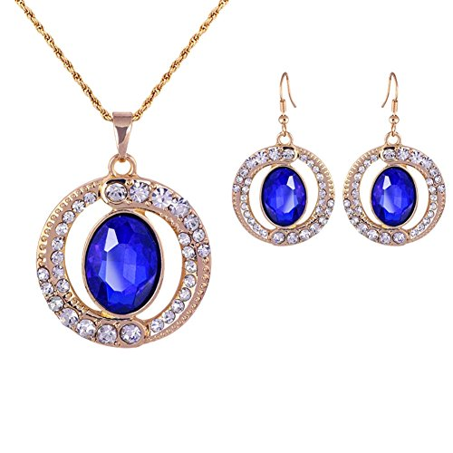 ER-06199C1 Alloy Crystal Women Earring (Hip Hop Dance Costumes For Teenagers)