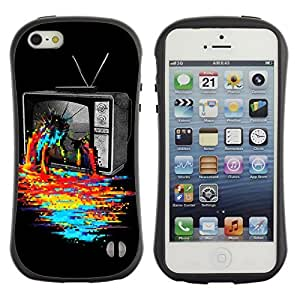 High quality Case for Apple iPhone 5c 5c Cool TV Colors Art