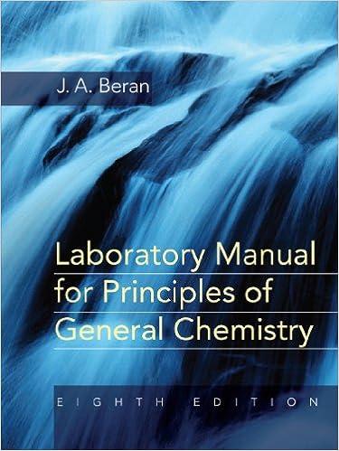 Amazon laboratory manual for principles of general chemistry laboratory manual for principles of general chemistry 8th edition fandeluxe Images
