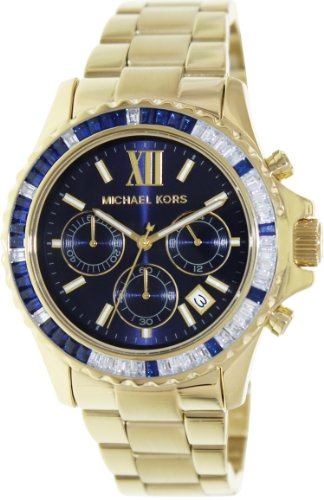 Michael Kors MK5754 Women's - Gold Face With Blue Kors Michael