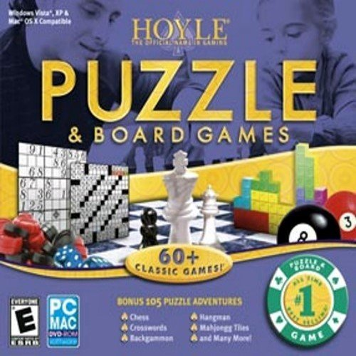 Encore 8031729 Hoyle Puzzle & Board Games 2008 Sof