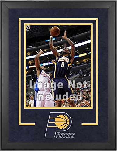 Indiana Pacers Deluxe 16'' x 20'' Frame - Fanatics Authentic Certified - NBA Other Display Cases by Sports Memorabilia