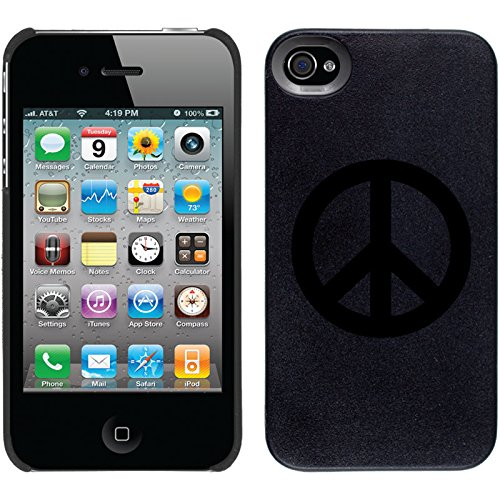 Coveroo Thinshield Snap-On Cell Phone Case for iPhone 4/4s - Peace Sign