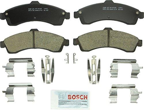 Bosch BC882 QuietCast Premium Ceramic Disc Brake Pad Set For Select Buick; Chevrolet SSR, Trailblazer, Trailblazer EXT; GMC Envoy, Envoy XL, XUV; Isuzu Ascender; Oldsmobile Bravada; Saab 9-7x; Front