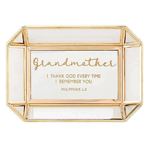 AT001 Grandmother - Philippians 1:3 -Tabletop Tray, 7'' X 5''. by AT001