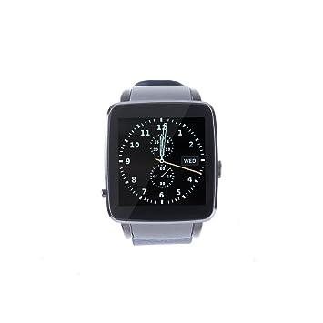 Levipower®X6 Smartwatch Pulsera NFC Con Pantalla Cámara Táctil para IOS Android Soporta SMI/TF (Azul)