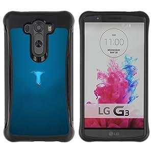 "Pulsar iFace Series Tpu silicona Carcasa Funda Case para LG G3 / D855 / D850 / D851 , Minimalista Mushroom Significado Profundo"""