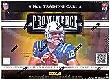 2012 Panini Prominence Football Hobby Box - Panini Certified - NFL Player Packs