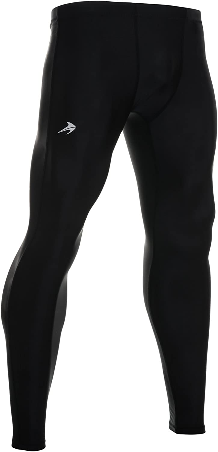 CompressionZ Men's Compression Pants Base Layer Running Tights Gym Leggings : Clothing