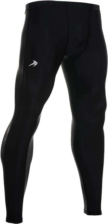Men Tights Pant Compression Under Skin Base Layer Fitness AU Shorts Pants Sports