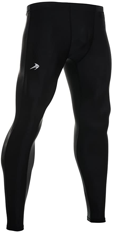 c70d2eee7fc47 Men's Compression Pants - Workout Leggings for Gym, Basketball, Cycling,  Yoga, Hiking - Rash Guard + Performance Running Tights - Athletic Base  Layer ...