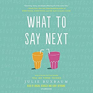 What to Say Next Audiobook