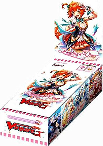 Cardfight Vanguard G Blessing Of Divas Clan Booster Box Sealed Card Game English