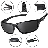 Morph Aim Polarized Sport Sunglasses for Men and Women - Sports: Running Cycling Fishing Golf Baseball Driving