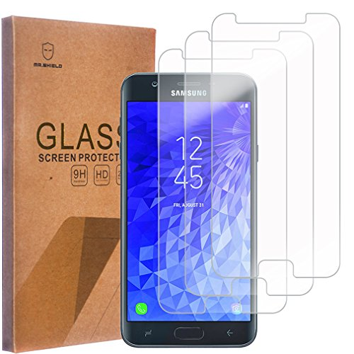 [3-Pack]-Mr Shield for Samsung Galaxy J7 V J7V (2nd Gen) / J7 (2nd  Generation) (Verizon) [Tempered Glass] Screen Protector with Lifetime  Replacement