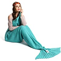 Kpblis Warm and Soft Mermaid Tail Blanket diffenrent...