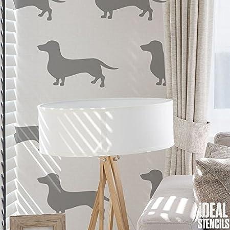 A5 A4 A3 Reusable Craft Stencil Furniture Walls Decor 014