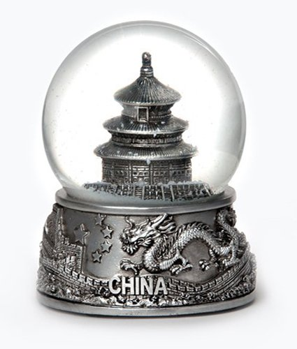 China Silver Snow Globe 65mm Exclusive
