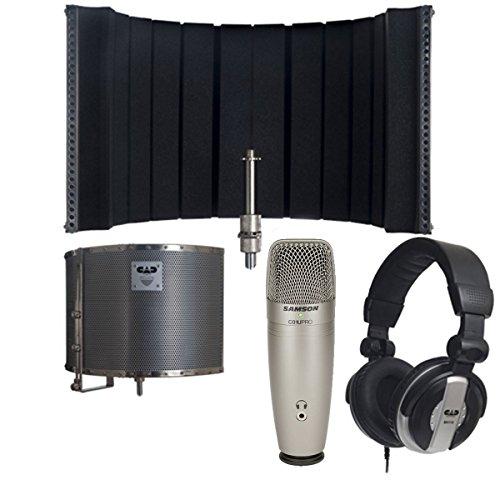 cad-audio-as32-acousti-shield-32-stand-mounted-acoustic-enclosure-bundle-samson-c01u-pro-usb-studio-
