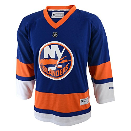 NHL Boys New York Islanders Team Color Replica Jersey - R56Hwbll (Royal, 4-7)