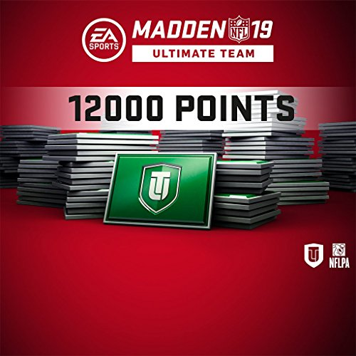 Madden NFL 19 MUT 12000 Points Pack (In Game) PS4 [Digital Code] by Electronic Arts