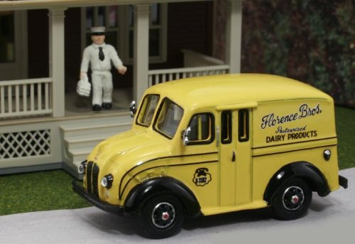 Ho Divco 1950 delivery truck : Florence bros.乳製品W/牛乳配達 B079VR12HT