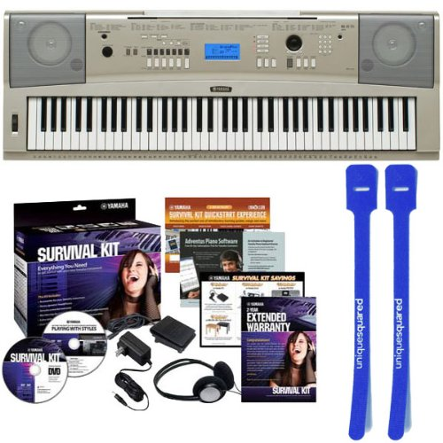 yamaha-ypg-235-76-key-portable-grand-piano-w-d2-survival-kit-and-cable-ties