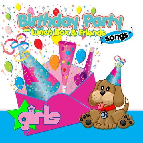 Birthday Party Songs for Girls with Lunchbox and his Friends - Happy BirthdaySongs for Kids