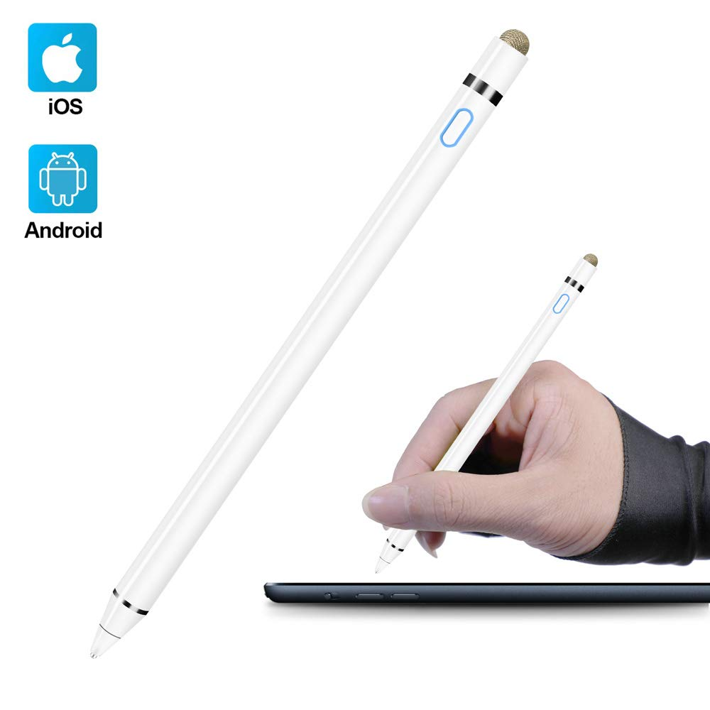 Active Stylus Pen Compatible with Apple iPad Homagical 15mm Fine Point Digital Stylus Pen