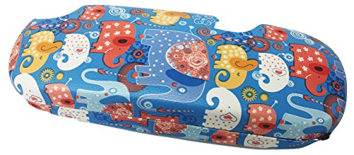 Clamshell Hard Shell Glasses Case - Durable Protective Holder for Eyeglasses, Sunglasses & Reading Glasses With Cleaning Cloth (Blue - - Elephant Sunglasses