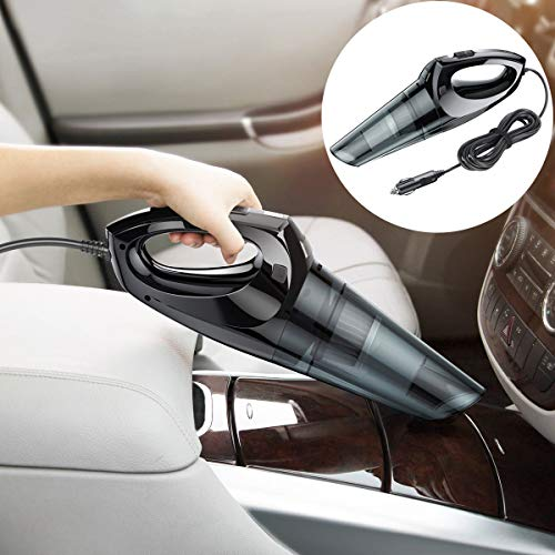 Dulcii Handheld Vacuum Cleaner, 65W Portable Wired Powerful Car Vacuum Cleaner with Cyclonic Suction and Power Cord for Car, Office, Home, Pet Hairs by Dulcii