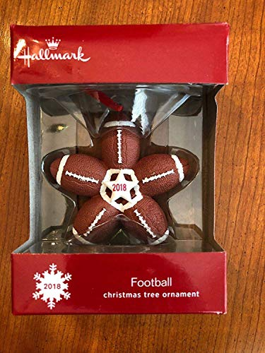 Football 2018 Hallmark Christmas Ornament]()