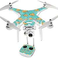 MightySkins Protective Vinyl Skin Decal for DJI Phantom 3 Professional Quadcopter Drone wrap cover sticker skins Clowning Around