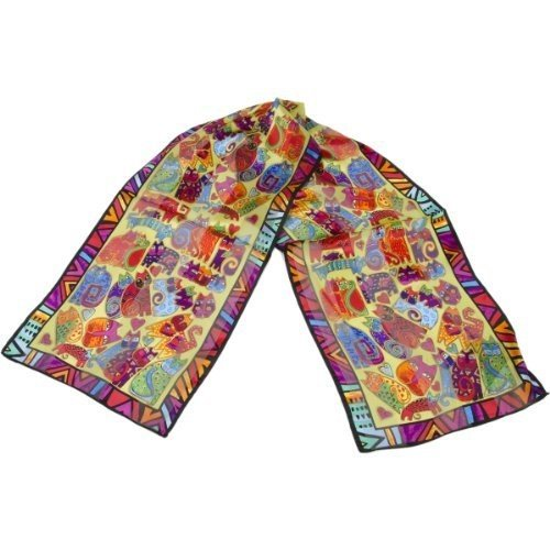 (Laurel Burch Scarves, Karly's Cats Classic)