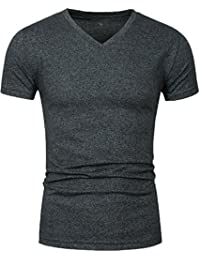 Men's Cotton Stretch Gym Short Sleeve T-Shirt