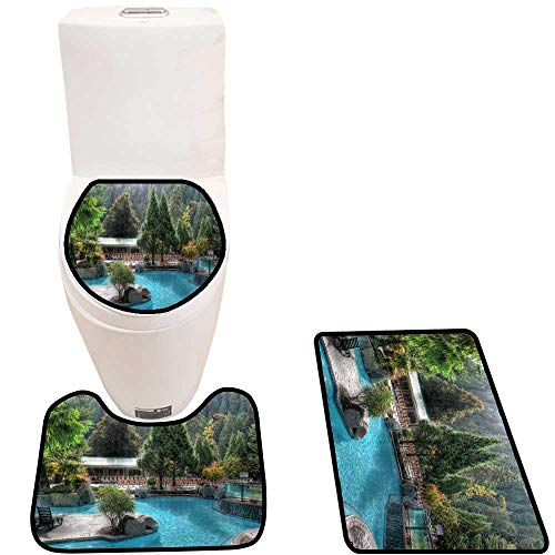 (Toilet Cushion Suit Charming Harrison in Bathroom Accessories)