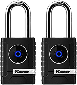 Wide Outdoor Personal Use Bluetooth Lock 4401DLH 2-7//32 in Master Lock Padlock
