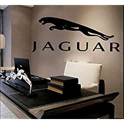 Jaguar Wall Decals Vinyl Sticker Emblem Logo Decal Garage Interior Studio Decor Bedroom Dorm SM128