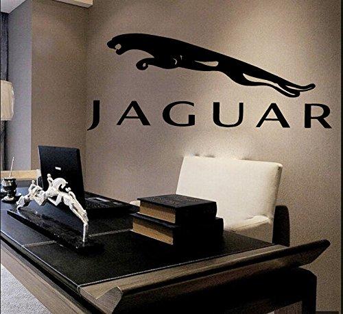 Jaguar Wall Decals Vinyl Sticker Emblem Logo Decal Garage Interior Studio Decor Bedroom Dorm SM128