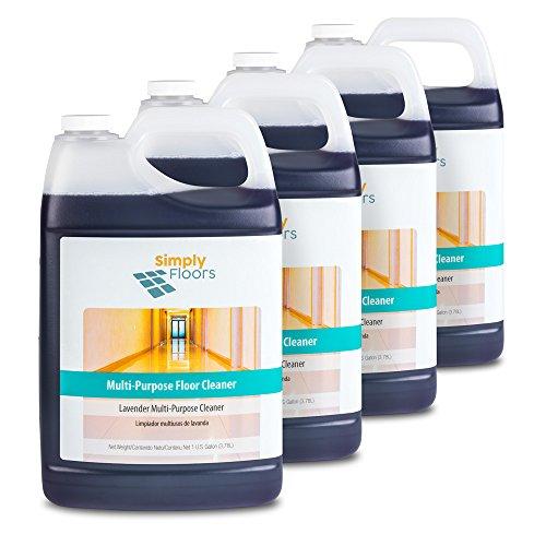Purpose Floor - Simply Floors Multi-Lavender Purpose Floor Cleaner, 512 oz, 4-pack