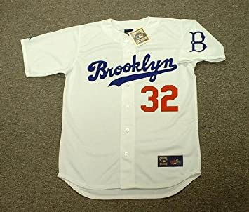 SANDY KOUFAX Brooklyn Dodgers 1955 Majestic Cooperstown Throwback Baseball  Jersey 93ce12f09ee