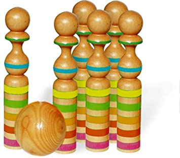 amazon com vilac giant skittles with stripes baby toys baby