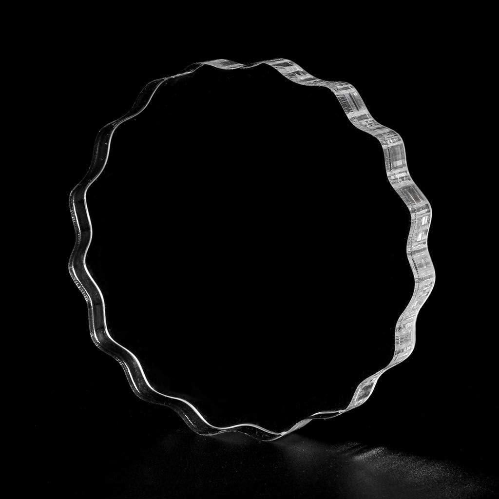 ECMQS Bloc De Timbres DIY Transparent Timbre De Sceau Blocs De Poign/ée En Acrylique Pour Scrapbooking Clair Album Photo Artisanat D/écoratif