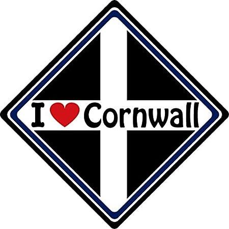 I Love Cornwall Car Sign (2) 51qgoyXsGAL