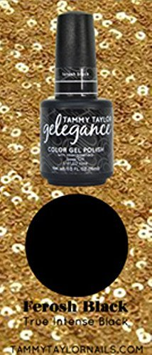 (Tammy Taylor - Gelegance Soak-off Gel 0.5oz/15ml (17 - Ferosh Black) by Tammy Taylor)