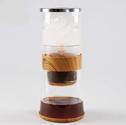 WANGYONGQI Pote de café Preparado en frío, máquina de café fría de la Cerveza Helada