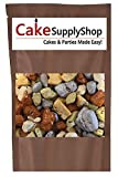 Edible Beach Sea Side Rocks For Cake Decoration and Candy Buffets (8oz Lakeside)