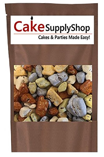 16oz Bag Edible Beach River Sea Side Chocolate Stones Rocks For