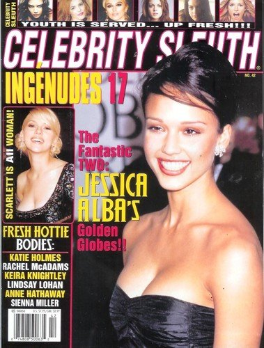 Celebrity Sleuth – Issue 42 (2006): Nude Celebrity Magazine! Christina Milian, Olsen Twins, Hilary Duff, and More!